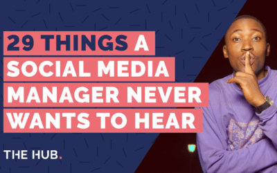 29 Things A Social Media Manager Never Wants To Hear