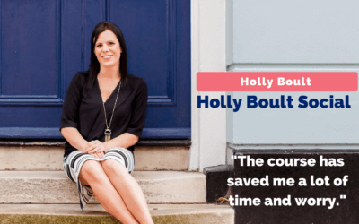 Holly conquers her fear of Facebook ads