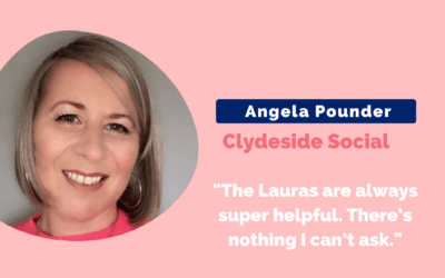 How Angela launched her social media biz faster than expected