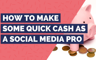 How to make some quick cash as a social media manager