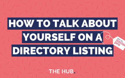 How To Talk About Yourself On A Directory Listing