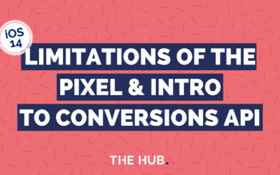The Limitations of the Facebook Pixel – introducing the Conversions API