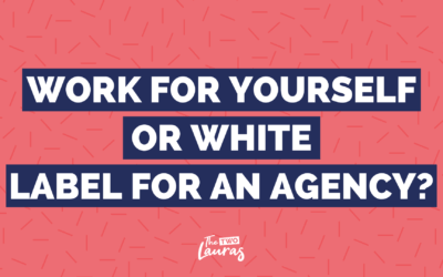 Is it better to work for yourself or freelance for an agency?